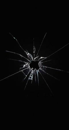 Apple Logo Window Dark Broken iPhone se Wallpapers