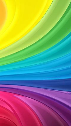 HD 1080x1920 rainbow swirl samsung galaxy a7 wallpapers