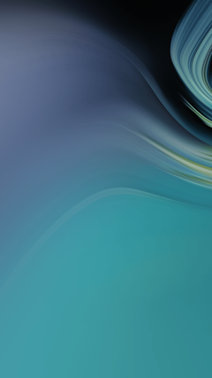 Wallpapers Waves Gradient Teal Turquoise Samsung Galaxy Tab S4