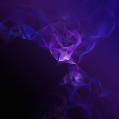 Wallpapers Samsung Galaxy S9 Purple Low poly Smoke Stock HD