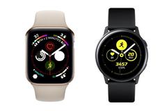 Samsung Galaxy Watch Active vs Apple Watch Series 4 rival