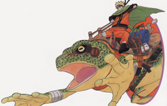 Wallpapers naruto anime art manga shinobi toad image
