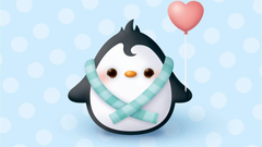 Moving Penguin Wallpapers