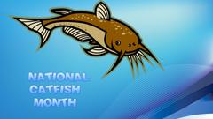National Catfish Month computer desktop