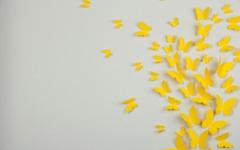 Glowing butterflies in a jar wallpapers