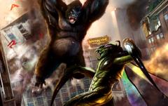 King Kong vs Mantis wallpapers