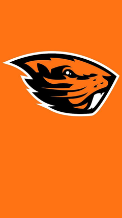 A Beaver iPhone Wallpapers I made works great as a