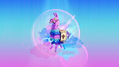 llama fortnite battle royale by cre5po Wallpapers and