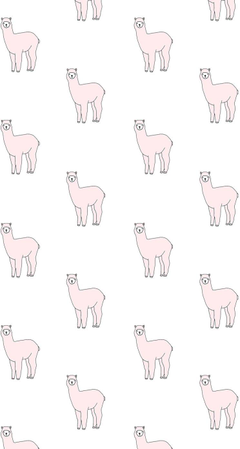 Kawaii Llama Wallpapers