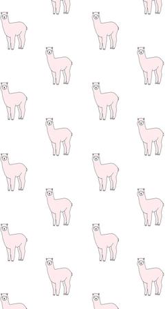 Kawaii Llama Wallpapers