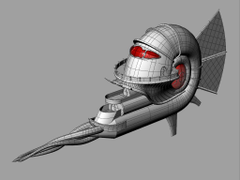 Rebuiling the Nautiloid by silverblade33 Fantasy