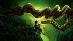 Wallpapers Jungle Book Mowgli Kaa Snake Movies