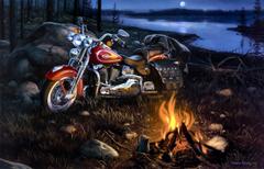 Desktop harley davidson bike image wallpapers 3d HD