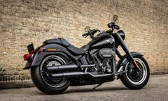 Harley Davidson Fat Boy S Fat Custom motorbike bike