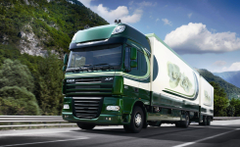 daf xf105 truck wallpapers iksef trailer road train wallpapers HD