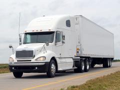 Freightliner Columbia Raised Roof semi tractor wallpapers
