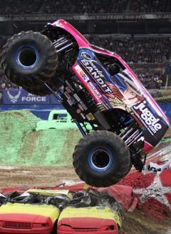 Monster Jam Monster Truck Win Fuels Internet Start