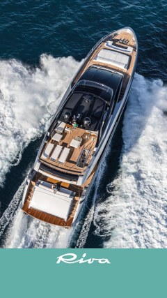 The Riva 100 Corsaro Luxury Yacht wallpapers of June