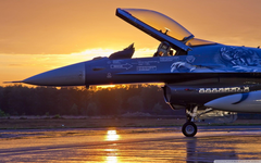 Military Aircraft Sunrise 4K HD Desktop Wallpapers for 4K Ultra