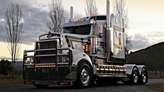 cars trucks USA semi 18 wheeler wheels