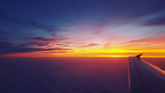 Airplane Dawn Dusk Flight Sunrise Sky HD Planes 4k Wallpapers