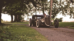 Wallpapers ford hotroad ratroad rat ford hot rod retrod