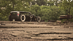 Wallpapers ford model a rat rod ford