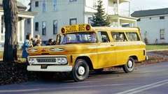 Classic Chevrolet School Bus