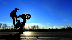 Bmw Bike Stunt Wallpapers