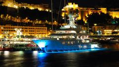 wallpapers city yacht port Monaco Monaco Hercules
