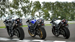 Yamaha R1 YZF sportbike superbike bike wallpapers