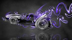Toyota Supra JDM Turbo Garrett Fantasy Plastic Car 2014