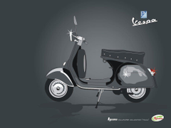 Vespa drawing 2 by limoncello