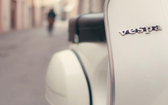 Street Focus Vespa Scooter Logo HD Wallpapers