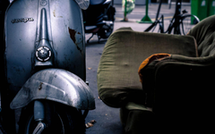 Old Vespa Scooter Exclusive HD Wallpapers