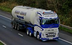 Photos lorry Volvo FH 500 6 X 2 YN15ZTT Lady Ann 2560x1600