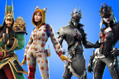Fortnite Onesie Spider Knight Arachne and Guan Yu skins revealed