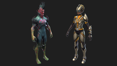 D models for the upcoming skins found in Patch v4 3 0