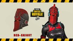 Red Knight Helmet
