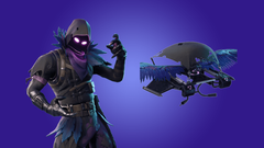 Coming Soon Raven Outfit and Feathered Flyer Glider