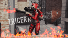 Fire Tricera Ops FortnitePhotography