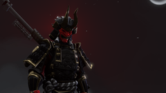 Quick SFM art of the unreleased Shogun Skin Ik it isnt perfect but