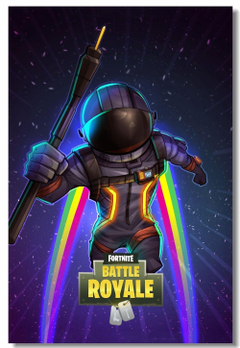 Custom Canvas Mural Battle Royale Raven Poster Battle Royale Game