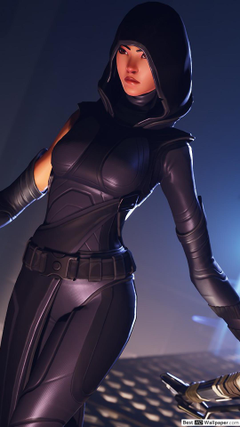 Fortnite fate outfit skin HD wallpapers