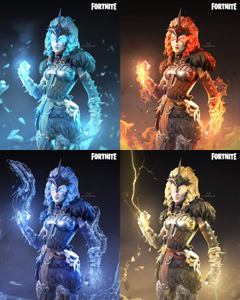 FORTNITE Elemental Valkyrie Concepts Thoughts on the concept