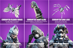 Corrupted Arachne Fortnite wallpapers