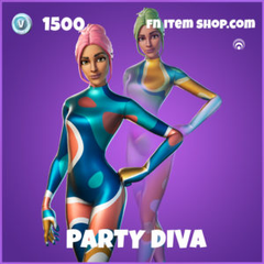 Party Diva Fortnite wallpapers
