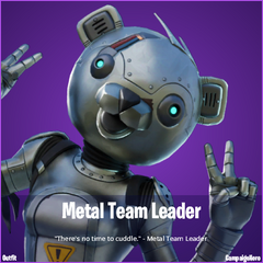 Metal Team Leader Fortnite wallpapers