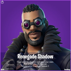 Renegade Shadow Fortnite wallpapers