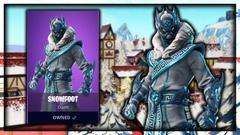 Snowfoot Fortnite wallpapers